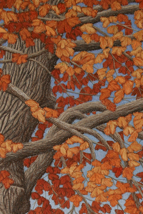Change Enables Growth Autumn (detail) by Tracey Lawko