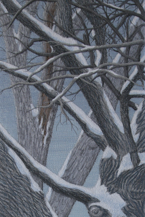 Change Enables Growth Winter (detail) by Tracey Lawko