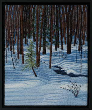 Winter Walk by Tracey Lawko