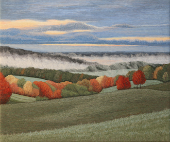 Autumn Morning by Tracey Lawko unframed