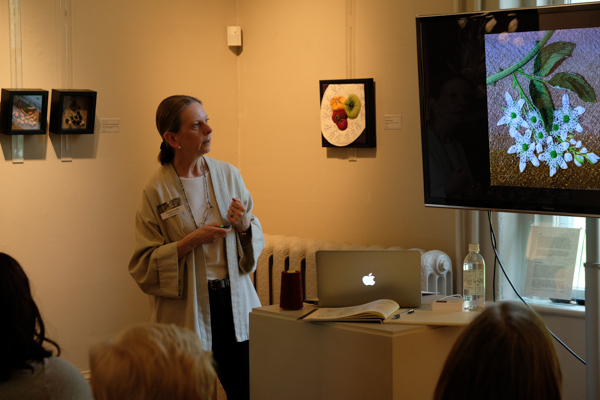 Tracey Lawko speaking at Homer Watson House & Gallery